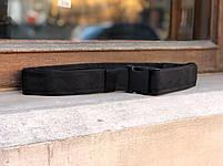 Ремень мягкий (5 см) Black, фото 2