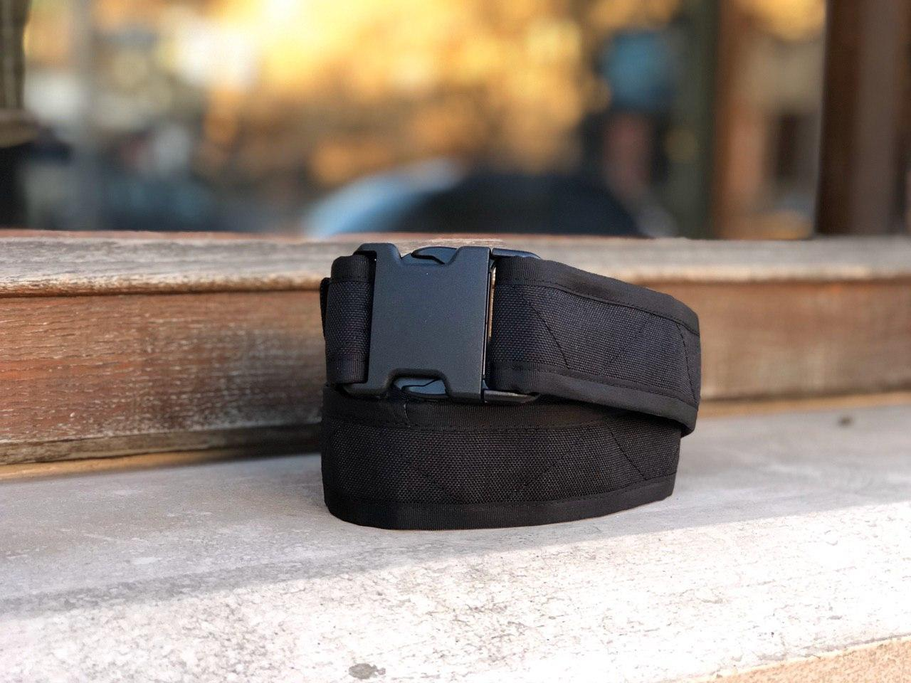 Ремень мягкий (5 см) Black