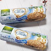 Печенье без сахара,без пальмового масла цельнозерновое с овсяными хлопьями Gullon Cuor di Cereale 280г Испания