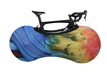 Чехол для Велосипеда для хранения. Зашитный чохол для велосипеда.  Накидка на велосипед