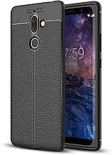 Чохол Touch для Nokia 7 Plus / TA-1046 бампер оригінальний Auto Focus Black