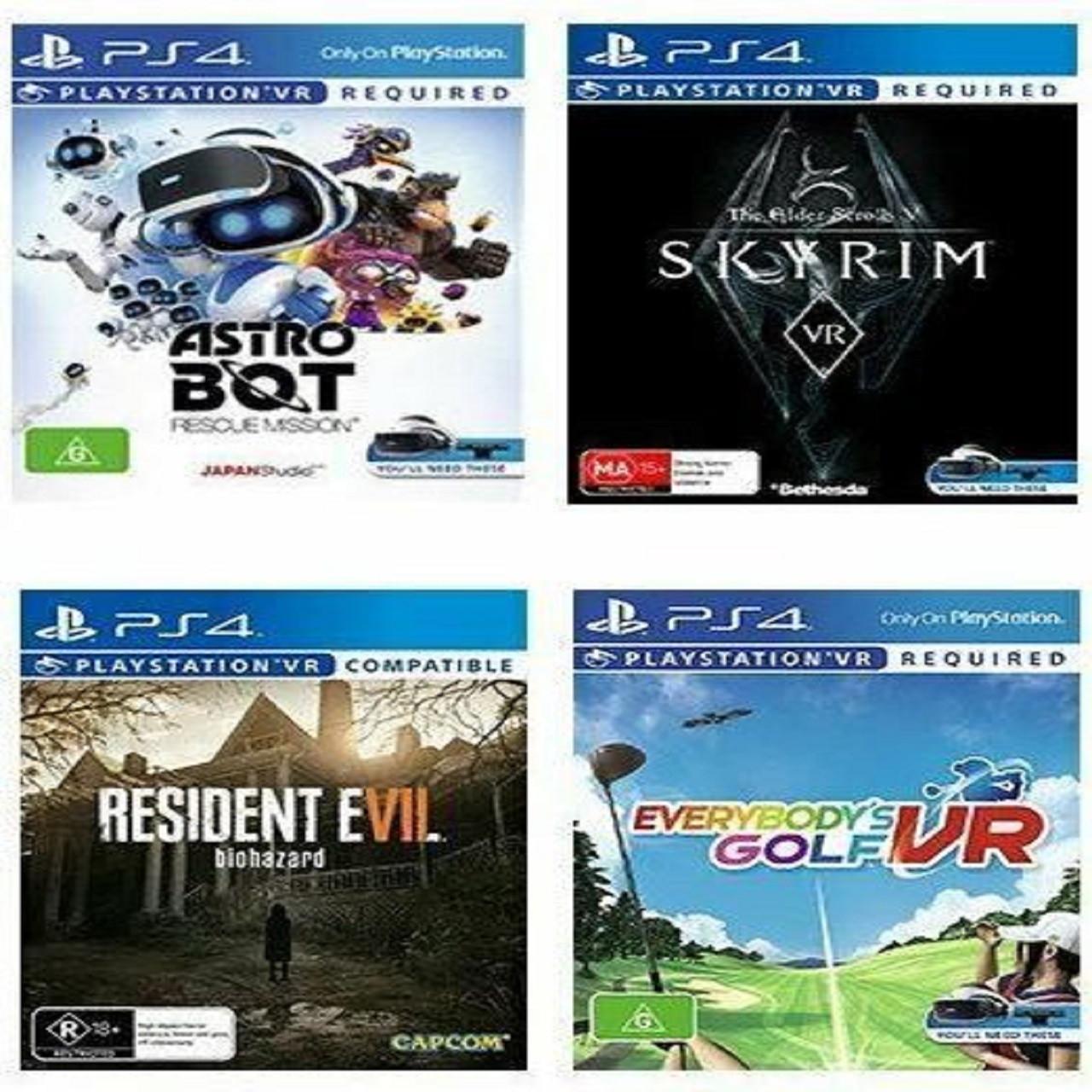 Resident 7/Skyrim/Astro Bot/Everybody's Golf PS4 VR (русская версия) (Код)