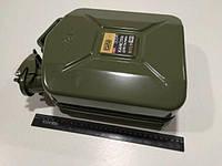 Канистра для бензина  5л., СИЛА (285091) металлическая