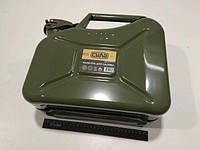 Канистра для бензина 10л., СИЛА (285092) металлическая