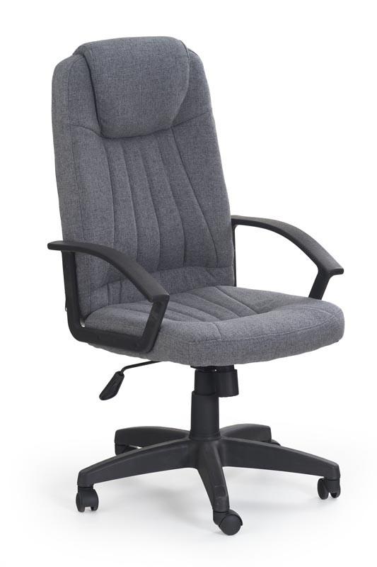 Крісло комп'ютерне RINO сірий (Halmar)