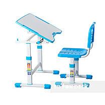 Комплект парта и стул-трансформеры FunDesk Sole II Blue - ОПТОМ ДЛЯ ШКОЛ, фото 3