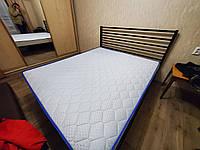 Кровать металлическая  в стиле ЛОФТ арт км 35, фото 1