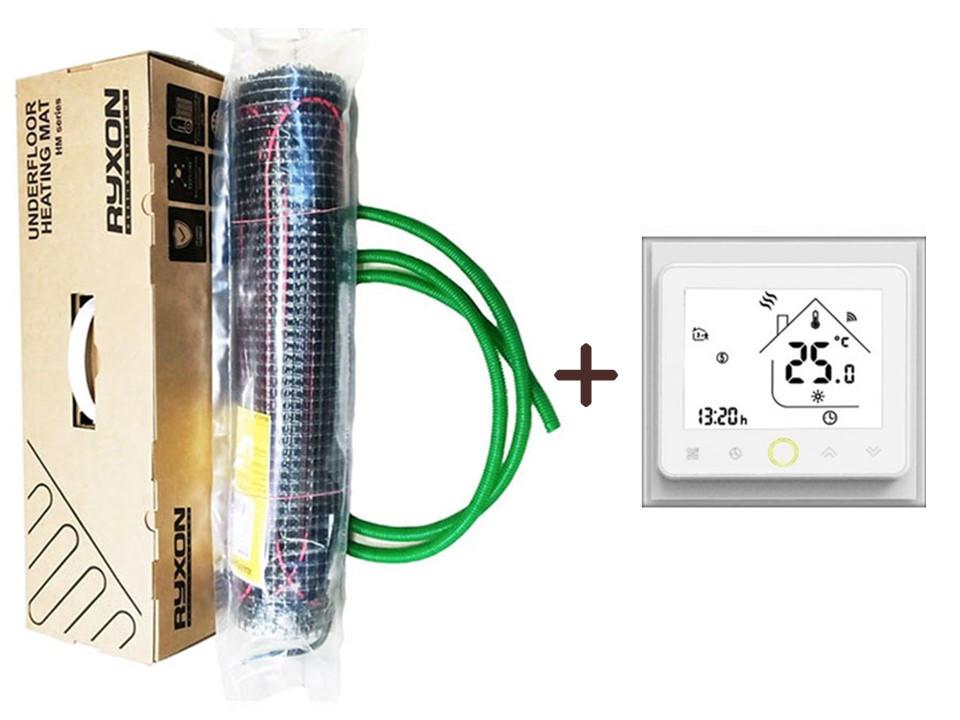 Нагреватальний мат Ryxon HM-200 ( 11 м2) c WI-FI thermostat TWE02 (KIT 3216)