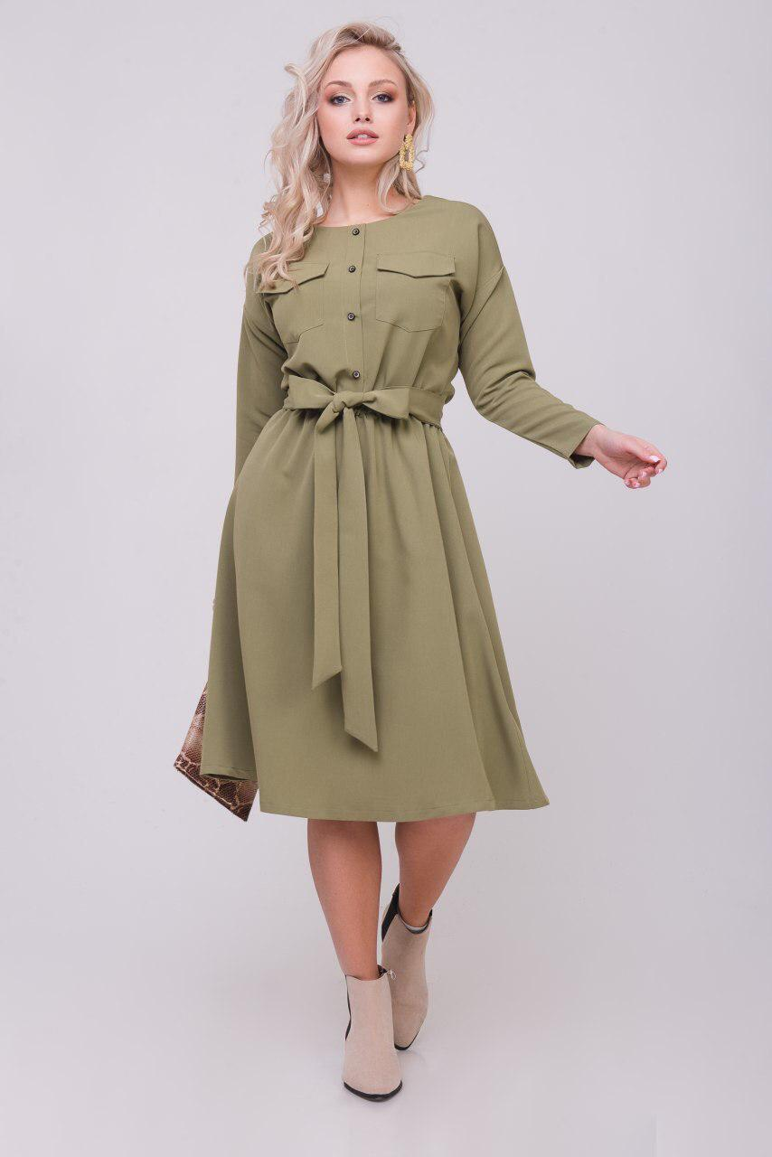 Женское платье Little haki dress