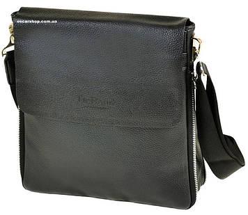 Мужская сумка Bond. Качественная кожаная сумка планшет. Сумка Бонд для мужчин.  СП03