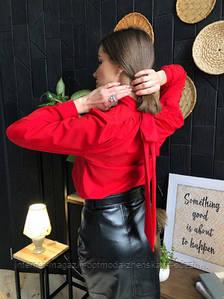 """Красивая нарядная женская блуза с бантом на спинке """"Jubilation"""""""