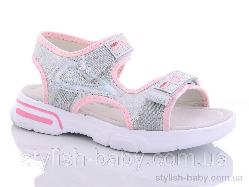 Детская обувь 2020 оптом. Детские босоножки бренда GFB - Канарейка для девочек (рр. с 32 по 37)