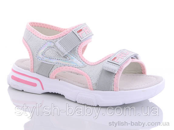Детская обувь 2020 оптом. Детские босоножки бренда GFB - Канарейка для девочек (рр. с 32 по 37), фото 2
