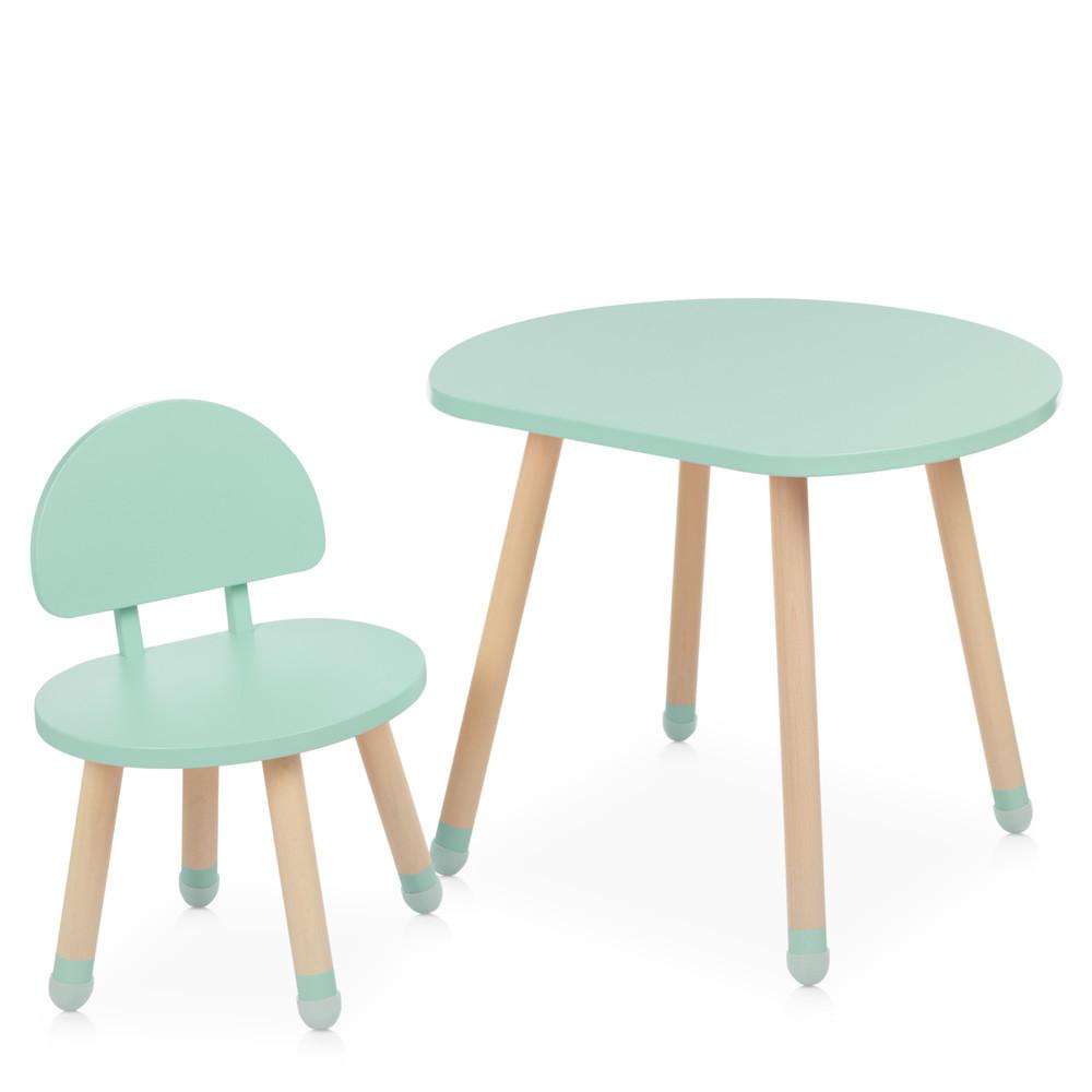Детский стол со стульчиком M 4254 Mushroom mint ***