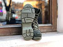Берцы милитари GREEN Кожа, фото 4
