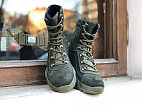 Берцы милитари GREEN Кожа, фото 3