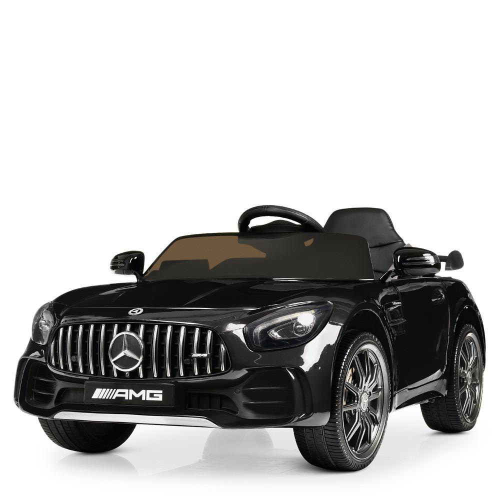 Детский электромобиль Mercedes Benz M 4182EBLRS-2 черный автопокраска