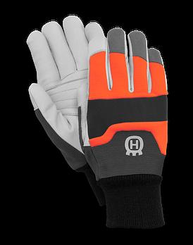 Перчатки Husqvarna с защитой от порезов пилой