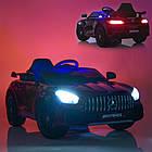Детский электромобиль Mercedes Benz M 4182EBLRS-4 синий автопокраска, фото 2
