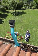 Щетка для чистки желобов Gardena с подачей воды, фото 3