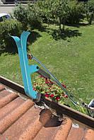 Щетка для чистки желобов Gardena с подачей воды, фото 6