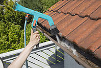 Щетка для чистки желобов Gardena с подачей воды, фото 7