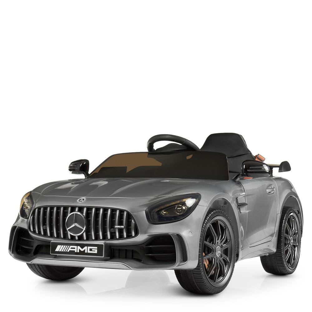 Детский электромобиль Mercedes Benz M 4182EBLRS-11 серебро автопокраска