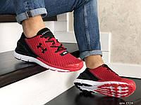 Мужские кроссовки Under Armour, красные с черным
