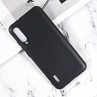 Чехол Soft Line для Xiaomi Mi 9 Lite (Mi CC9) силикон бампер черный