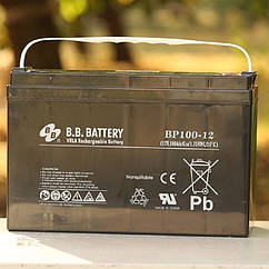 Аккумулятор BB Battery BP100-12/I2