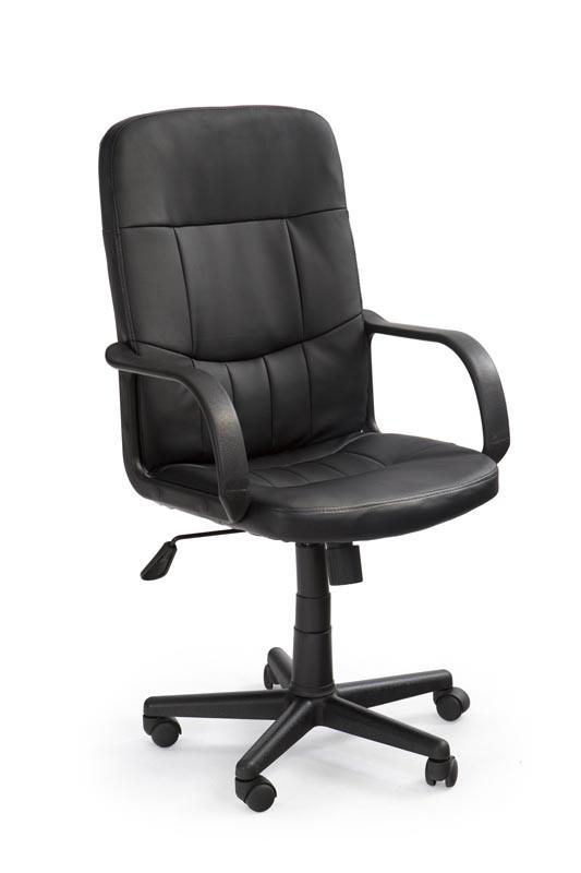 Крісло комп'ютерне DENZEL чорний (Halmar)