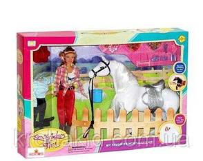 """Детская кукла с лошадью  """"Ранчо"""" / DEFA 8038, фото 2"""