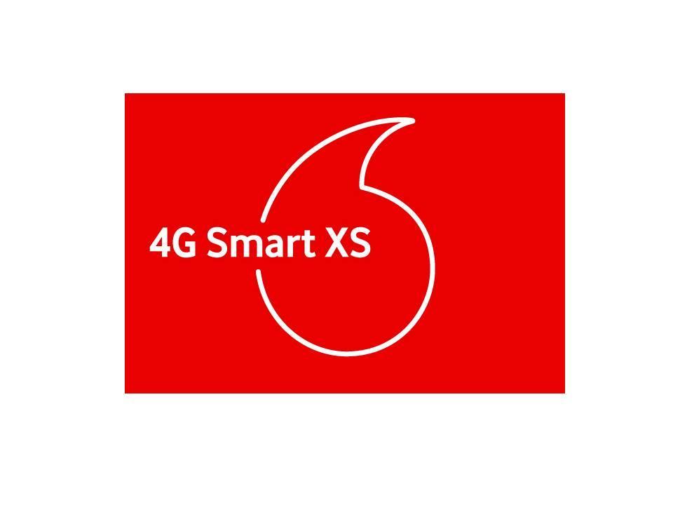 Стартовый пакет Vodafone 4G Smart XS с абонплатой 35 грн в месяц