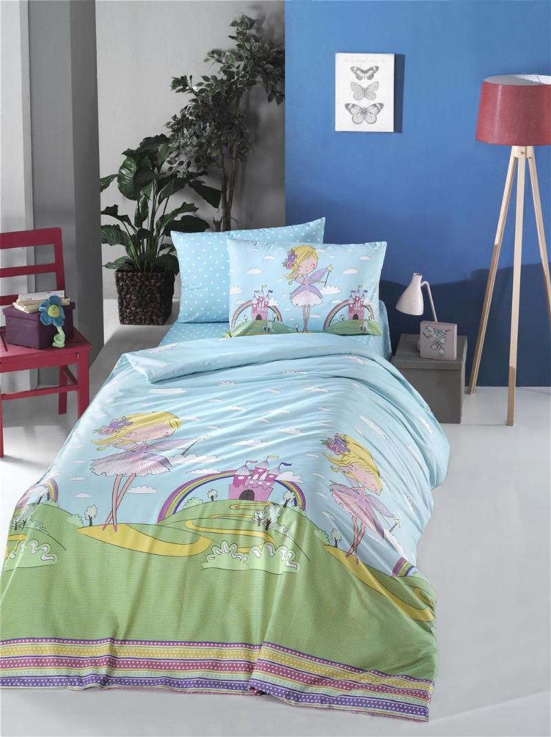 Комплект постельного белья полуторный 160х220 LIGHT HOUSE ranforce FAIRY