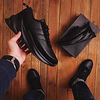Кросівки чоловічі чорні Еко шкіра