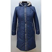 Качественная женская куртка удлиненная больших размеров в расцветках