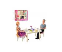 Семья DEFA 8387-BF ( 28см и 29см, шарнирная, столовая, посуда, 2 вида, в кор-ке,34-25-13см(DEFA 8387-BF)