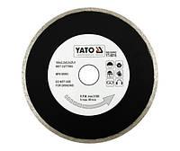 Диск отрезной алмазный для мокрой резки YATO YT-6017 200 х 2.2 x 5.3 x 25.4 мм
