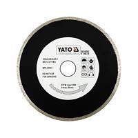 Диск отрезной алмазный для мокрой резки YATO YT-6016 180 х 2.2 x 5.3 x 25.4 мм