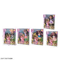 Кукла 5 видов, с аксессуарами, в кор.27*21*6см /60-2/ (192)