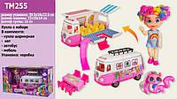 """Кукла """"Н"""" питомцы,автобус,аксессуары, в кор.39,5*16*22,5 см /24-2/ (TM255)"""