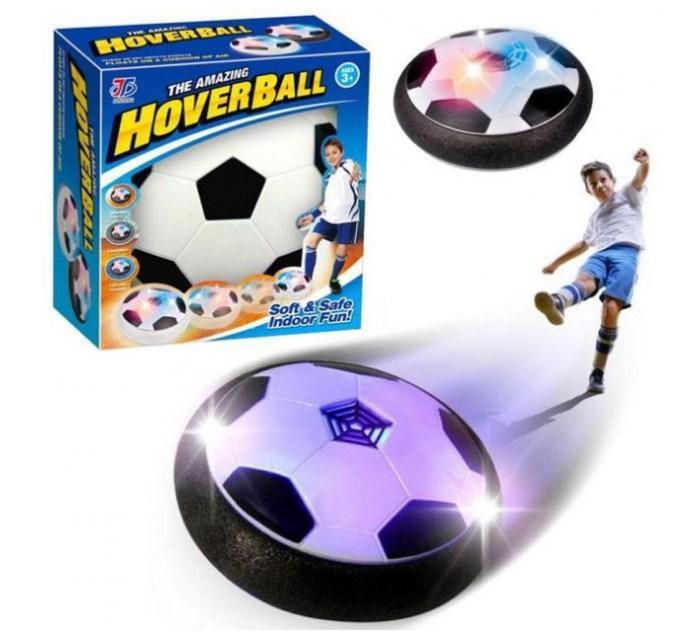 Літаючий футбольний м'яч для дому з підсвічуванням ховербол Hover Led Ball