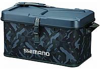 Сумка Shimano Hard EVA Tackle Boat Bag 27L 30x45x32cm ц:wave camou