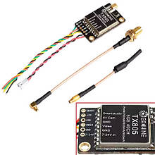 FPV видео передатчик VTX 5.8G 40CH 20/200/600/800Вт Eachine TX805