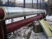 Скорлупы ППУ с покрытием - изоляция труб