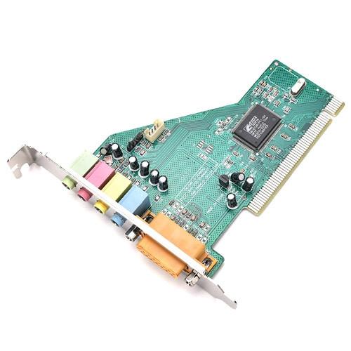 PCI 4 канальная звуковая карта + MIDI Game порт C-Media CMI8738-SX