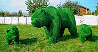 Садовая скульптура Композиция из медведей, TeamArt