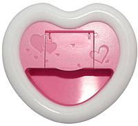 Селфи-лампа в виде сердечка розовая (Коз/0002_Роз.)