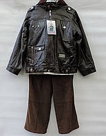 Стильный костюм для мальчика 4-7 лет модель - 9714