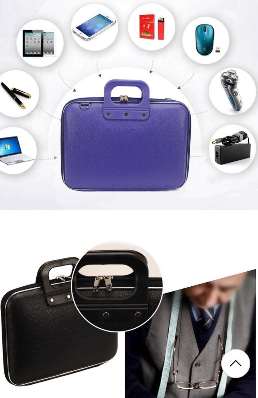 Жесткий портфель Мужская/Женская сумка для ноутбука HP большая